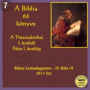 A Biblia 66 könyve – IV.félév/A