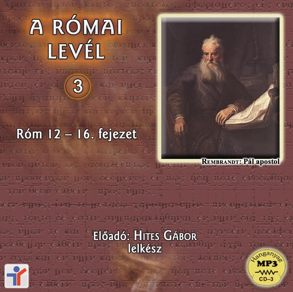 A Római levél – 3.